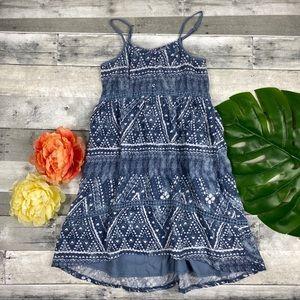 Abercrombie Fitch kids mosaic dress 9/10
